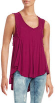 Free People Ruffled Tank Top