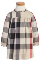 Burberry 'Pippie' Check Print Dress (Toddler Girls)