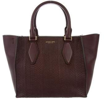 Michael Kors Snakeskin Satchel Bag
