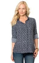 Pea Collection Splendid Button Front Maternity Top