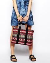 Pieces Lili Canvas Shopper