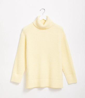 LOFT Lou & Grey Wafflestitch Turtleneck Sweater