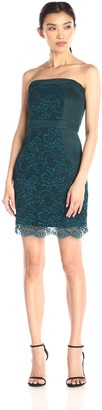 Lovers + Friends Lovers+Friends Women's Break Free Lace Strapless Bodycon Dress