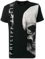 Philipp Plein Men's Black Cotton T-shirt.