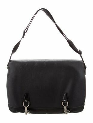 Louis Vuitton Taiga Dersou Messenger Bag Black