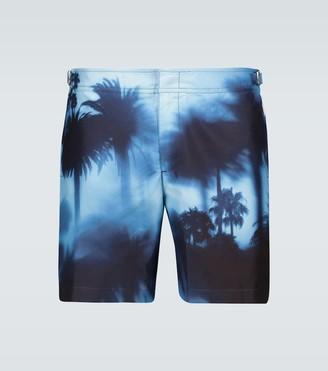 Orlebar Brown Bulldog photographic printed swim shorts