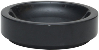 N. Marble Crafter Eris Collection Jet Black Soap Dish