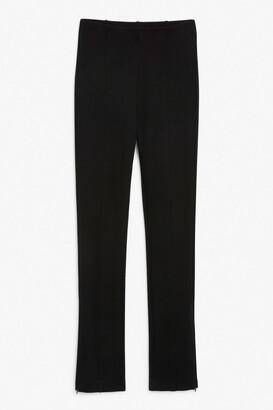 Monki Side zip leggings