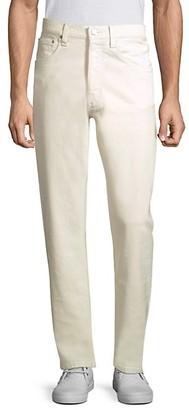 Helmut Lang Slim-Fit High-Waist Straight Leg Jeans