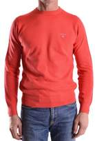 Gant Men's Orange Cotton Sweater.