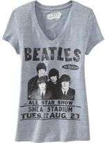 Old Navy Women's The Beatles™ V-Neck Tees