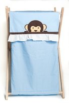 Pam Grace Creations Laundry Hamper, Maddox Monkey by