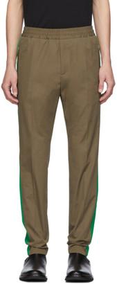Stella McCartney Khaki Piet Contrast Trousers
