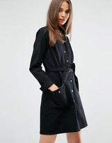 MiH Jeans Ohio Utility Shirt Dress With Belt