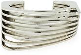 Vita Fede Futturo Segmented Small Silver Cuff Bracelet