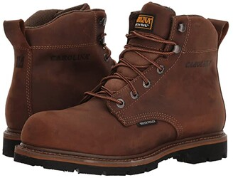 Carolina 6 Waterproof Work Boot CA9036 (Mohawk RW/Brown Leather Upper) Men's Work Boots