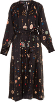 Isabel Marant Olympe cosmic-print dress