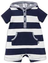Offspring Boys' Striped Hooded Romper - Baby