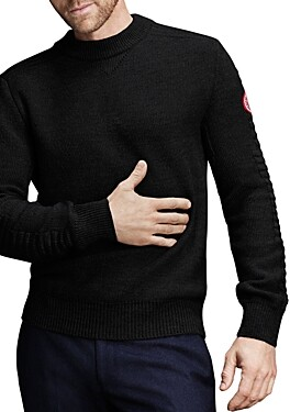 Canada Goose Patterson Merino Wool Classic Fit Sweater