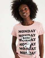 American Eagle Outfitters Snoopy Monday Graphic T-Shirt