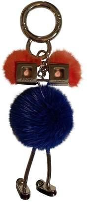 Fendi Blue Mink Bag charms