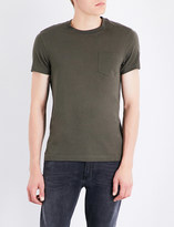 Belstaff Patch pocket cotton T-shirt