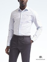 Banana Republic Monogram Grant Slim-Fit Stripe Shirt