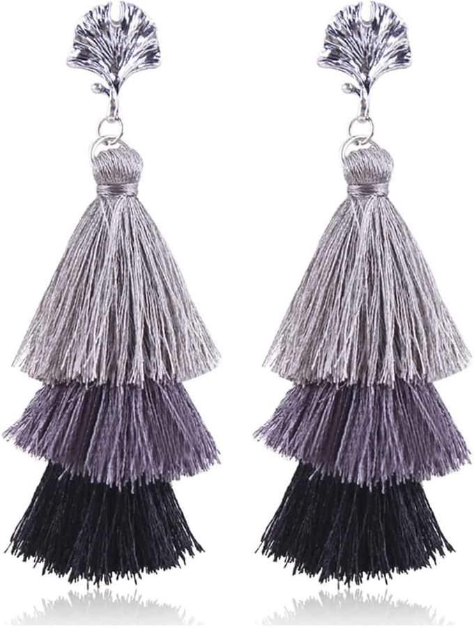 975295e08f Color Block Earrings - ShopStyle