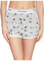 Calvin Klein Underwear Modern Cotton Loungewear Sleep Shorts Women's Pajama