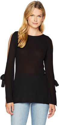 Kensie Women's Textured Viscose Sweater