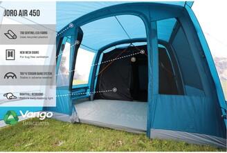 Vango Joro 450 4-Person Tent, Moroccan Blue