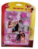 Disney High School Musical Journal - Hard Cover Diary With Lock