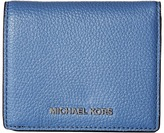 MICHAEL Michael Kors Mercer Flap Card Holder Credit card Wallet