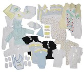Bambini Newborn Baby Starter Baby Shower Layette Gift Set, 88pc (Baby Boys)