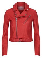 Maje Biker Leather Jacket