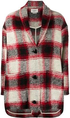 Etoile Isabel Marant Plaid Oversized Jacket