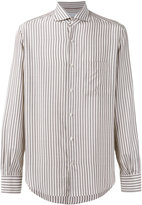 Loro Piana Alain striped shirt - men - Silk - XXXL