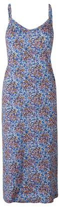 Mads Norgaard Blue Flower Delkissa Dress - MEDIUM