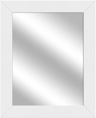 "PTM Images Vanity Mirror, White, 25.5""x31.5"""