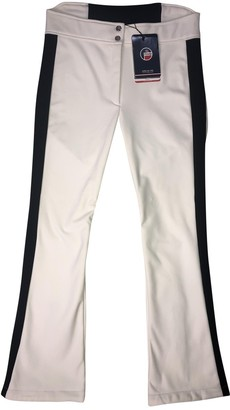 Fusalp White Spandex Trousers