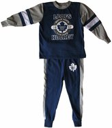 Mighty-Mac Mighty Mac Toronto Maple Leafs Toddler Glow In The Dark Pyjamas