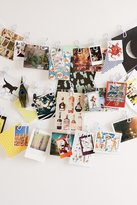 Urban Outfitters Plastic Photo Clips String Set