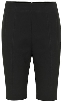 Tibi Anson stretch-crepe shorts