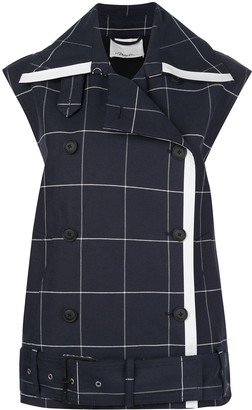 3.1 Phillip Lim Window Pan trench-style vest