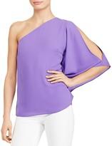 Lauren Ralph Lauren One-Shoulder Cutout Top