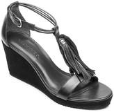 Bernardo Khloe Tassel Platform Wedge Sandals