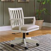 Signature Design by Ashley Woodboro Home Office Lift Top Desk Office Chair