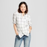 A New Day Women's Plaid Any Day Tunic Shirt