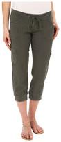 UNIONBAY Marianna Linen Rayon Crop Pants