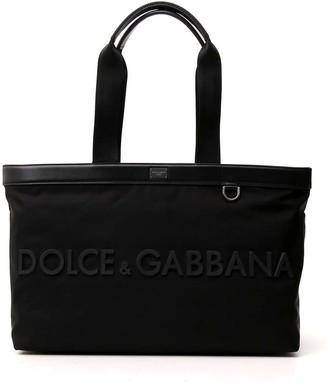Dolce & Gabbana Logo Tote Bag